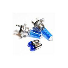 H7 T4W 55w Upgrade ICE Blue Xenon HID Low/Side Light Beam Headlight Bulbs Set