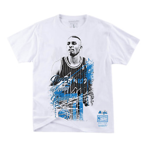 Mitchell & Ness White NBA Orlando Magic Penny Hardaway Player Burst T-Shirt