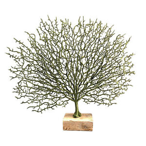 Resin Coral Tree Branch Sculpture Table Top Ornament Decor Tabletop Figurine