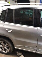 VW TIGUAN R LINE MK1 5N 08-16 O/S/R DRIVER OFF SIDE RIGHT REAR DOOR IN SILVER