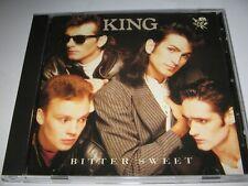 BITTER SWEET by KING / PAUL KING (1985) V.RARE ORIGINAL CBS ALBUM on CD 10 Songs