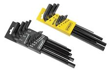 Stanley 85-753 22 Piece Long Arm SAE & Metric Hex Key Set