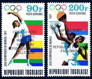 TOGO 1974 FOOTBALL CUP - GERMANY WINNERS MNH SOCCER, SPORTS