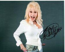 DOLLY PARTON Signed Photo w/ Hologram COA