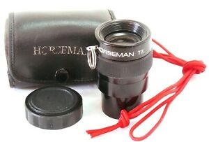 Horseman 7X Magnifier Loupe with case EXC++ #37138