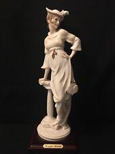 """Guiseppe Armani Florence Porcelain Figurine """"Late Again"""" 0631F"""