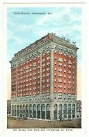 Undated Unused Postcard Hotel Severin Indianapolis Indiana IN 400 rooms bath