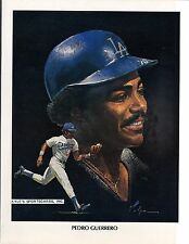 1982 VOLPE UNION OIL Pedro Guerrero DODGERS UNSIGNED  8-1/2 x 11 PREMIUM PHOTO 5