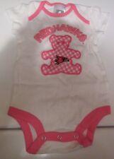 Fargo-Moorhead RedHawks Sports Baby One Piece Romper Pink White Bear 3-6 Months