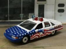 4th Gen 1991- 1992 Chevrolet Caprice Police Sedan 1/64 Scale Limited Edition K1