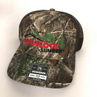 Hancock Lumber hat pine tree logo Realtree camo pattern Hanncock Pine