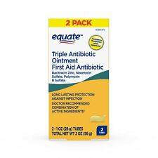 Equate Triple Antibiotic 2 ounces (56g) Generic Neosporin, Fast Free EU Shipping
