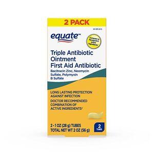 Equate Triple Antibiotic 2 ounces (56g) Generic Neosporin, Fast Free EU Shipping