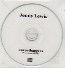 (BQ916) Jenny Lewis, Carpetbaggers - 2008 DJ CD