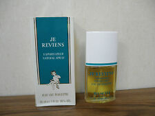 Worth Je Reviens 1oz  Women's Eau de Toilette Spray Made in France