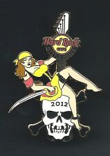 Hard Rock Cafe MYRTLE BEACH. Egyptian Series *Pirate Girl*  2012. Pin (P.A*++)