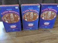 "Lot Of 3 Vintage MGM's Ideal Little Women 12"" Collector Dolls - Amy / Jo / Meg"