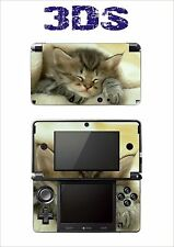 SKIN STICKER AUTOCOLLANT DECO POUR NINTENDO 3DS REF 46 CHATTON