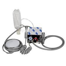 Dental lab Portable Turbine Unit work with Air Compressor 4Hole + 3W Syringe A++