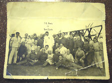 1939 RARA FOTO DI S.A. REALE AMEDEO DI SAVOIA DUCA D'AOSTA PILOTA CON AEROPLANO