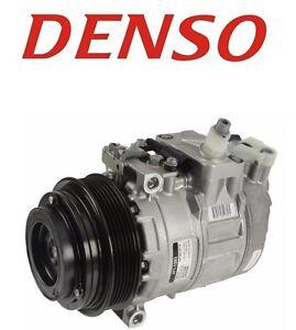 For Mercedes W163 W463 ML320 ML430 A/C Compressor w/ Clutch DENSO 0002306811