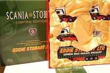 Corgi 1/50 - Coffret Scania T Cab - Topline - 4 Series + remorque Eddie Stobart