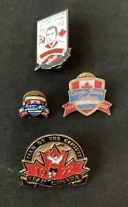 1972 🏒 Summit In 1972 40th Anniversary Original Pins Badges + 2 Authentic Pins