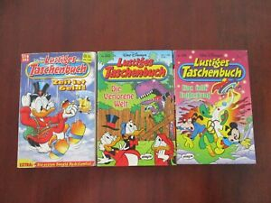 Walt Disney Lustiges Taschenbuch GERMAN Comic Books