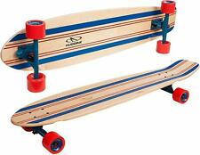 HUDORA Longboard Tamarack ABEC 7 Skateboard Funsport Sport Skate 12808 Ahorn NEU