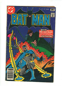 Batman #302 DC Comics 1978 Bronze Age Slight Water Damage