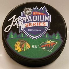 JONAS BRODIN SIGNED MINNESOTA WILD HOCKEY PUCK 1007814