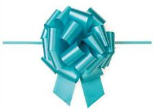 "8""Large Turquoise Pull Bow (10 Pieces)"