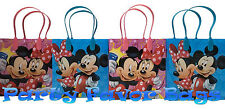 24 pcs Disney Mickey Minnie Mouse Party Favor Bags Treat Birthday Gift Sack Bag