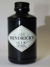 Hendricks Gin 50 ML 44% MINI BOUTEILLE bottle miniature BOTTELA Mignon Joli