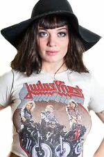 Vtg Judas Priest shirt 80s Tour Metal Iron Maiden Slayer Destruction Metallica