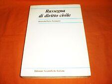 perlingieri rassegna di diritto civile  1/1980