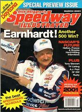 Speedway Illustrated Magazine - Dale Earnhardt Cover - March 2001 Issue