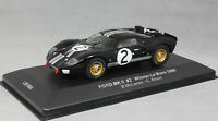 IXO Ford GT40 Winner Le Mans 1966 Bruce McLaren & Chris Amon LM1966 1/43 NEW