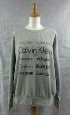 Calvin Klein Women's Grey Long Sleeve Sweatshirt Lounge Sleep Wear Size L BNWT