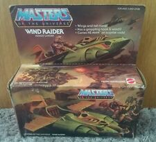 VINTAGE 1981 MATTEL HE-MAN MASTERS OF THE UNIVERSE WIND RAIDER UNUSED CONTENTS