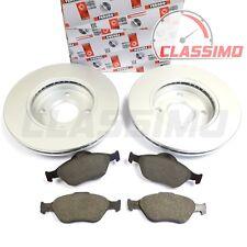 Ferodo Front Brake Discs & Pads for FORD FIESTA Mk 6 + FUSION + MAZDA 2 - 02-09