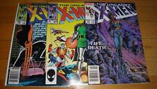 X-MEN # 196,197,198  ROMITA JR  BARRY SMITH NM 9.2/9.4