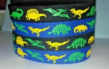 Beastie Band Cat Collars - =^.^= Purrfectly Comfy - Prehistoric Dinosaurs