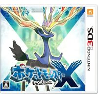 UsedGame 3DS Pokemon X from Japan