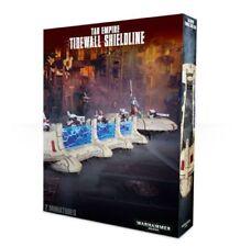 Warhammer 40K Tau Empire Tidewall Shieldline; Factory Sealed Box Set