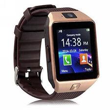 Premium SmartWatch DZ09 ROSEGOLD Uhr Bluetooth iOS Android Samsung SIM Kamera