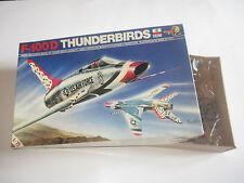 F-100 D THUNDERBIRDS KIT MONTAGGIO ESCI 9024 SCALA 1:72