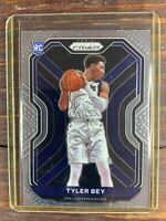 Tyler Bey Basketball Rookie Card #251 Panini Prizm Dallas Mavericks RC MINT NBA