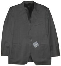 NEW CANALI CHARCOAL GRAY 3 BUTTON SINGLE BREASTED SPORTCOAT JACKET 54 44R 44 R