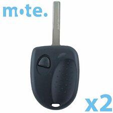 2 x Holden Commodore VR VS VU UTE 1 Button Car Remote Case/Shell/Fob Key